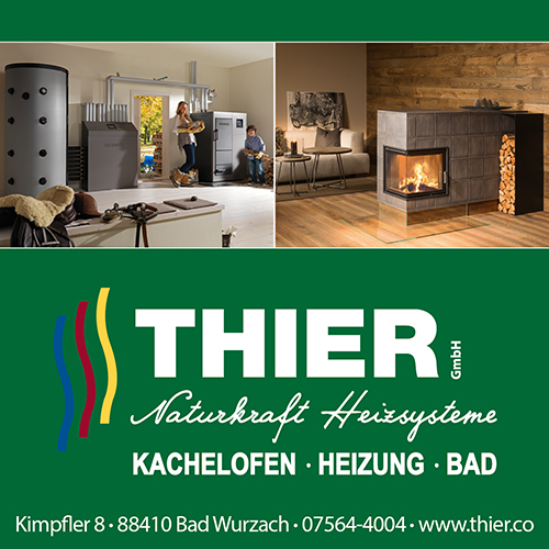 Thier GmbH kachelofen heizung