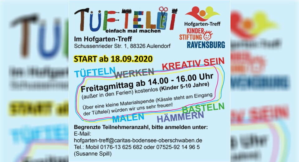 Tüftelei – Im Hofgarten-Treff