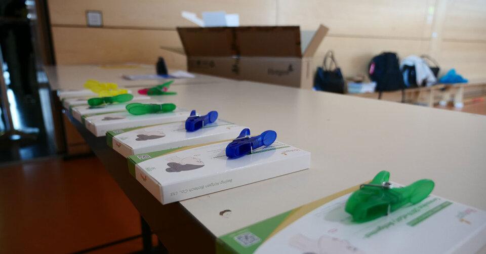 Weitere Selbsttest-Aktion an Schulen – Schüler*innen und Eltern können Selbsttest kennenlernen und ausprobieren