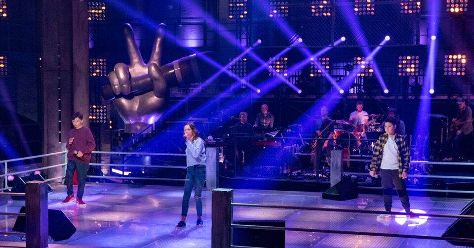 """The Voice Kids: Lenny, Amy und Rio performen """"Lila Wolken"""" in den Battles"""