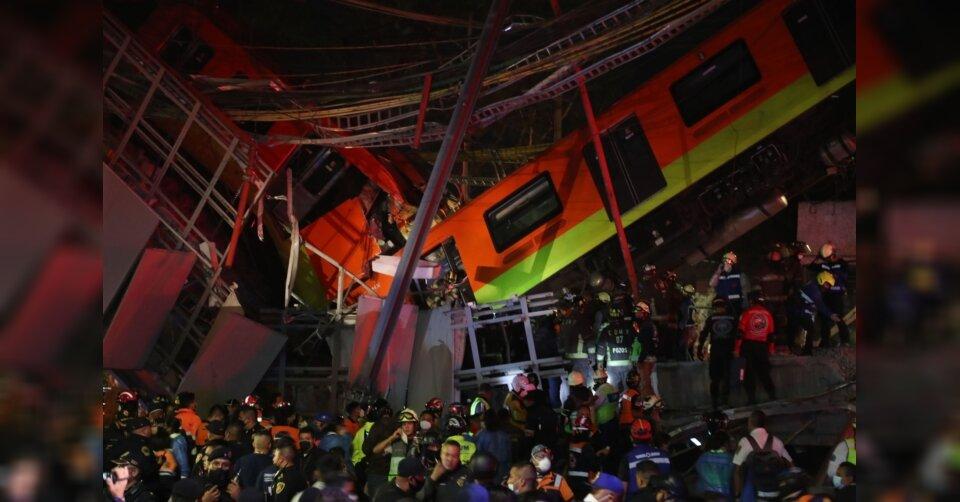 U-Bahn-Unglück in Mexiko-Stadt: Mindestens 20 Tote