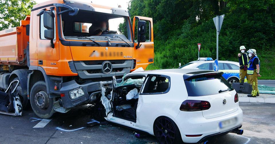 Schwerer Verkehrsunfall bei Tettnang