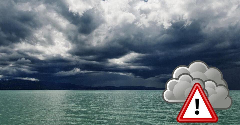 Hinweis – Unwettergefahr auch am Mittwoch: Kräftige Schauer und Gewitter mit Unwetterpotential!