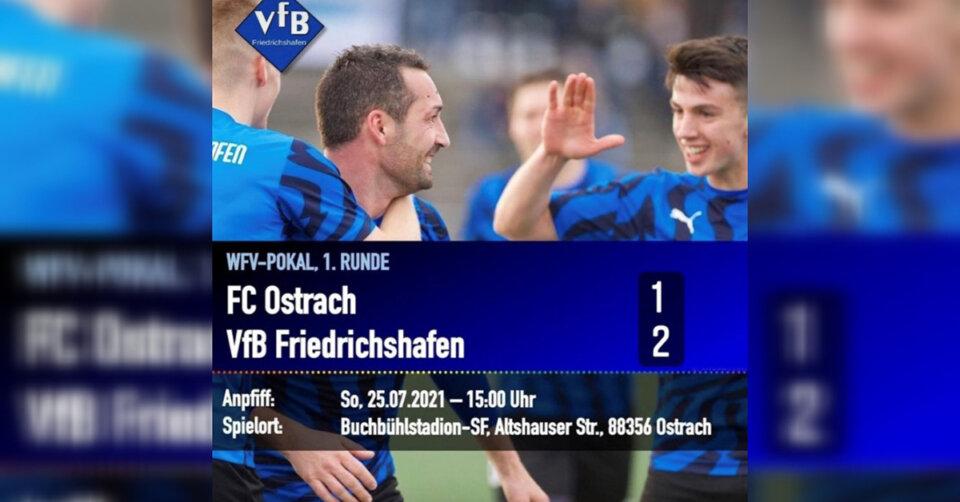 VfB-Fußballer ziehen in die nächste Runde ein