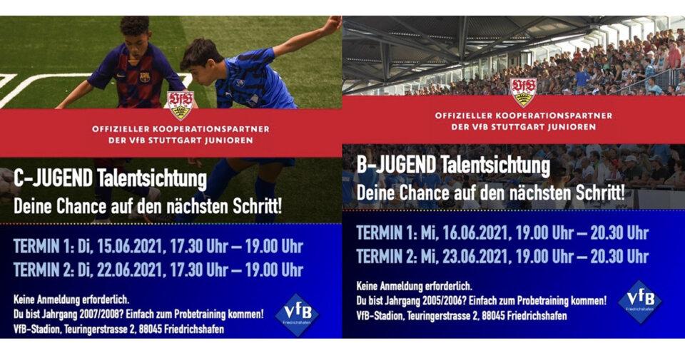 VfB-Fußballer suchen Talente von morgen