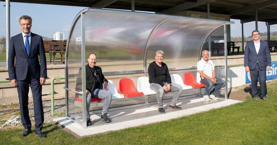 Crowdfunding: Auswechselbänke für den SV Kressbronn
