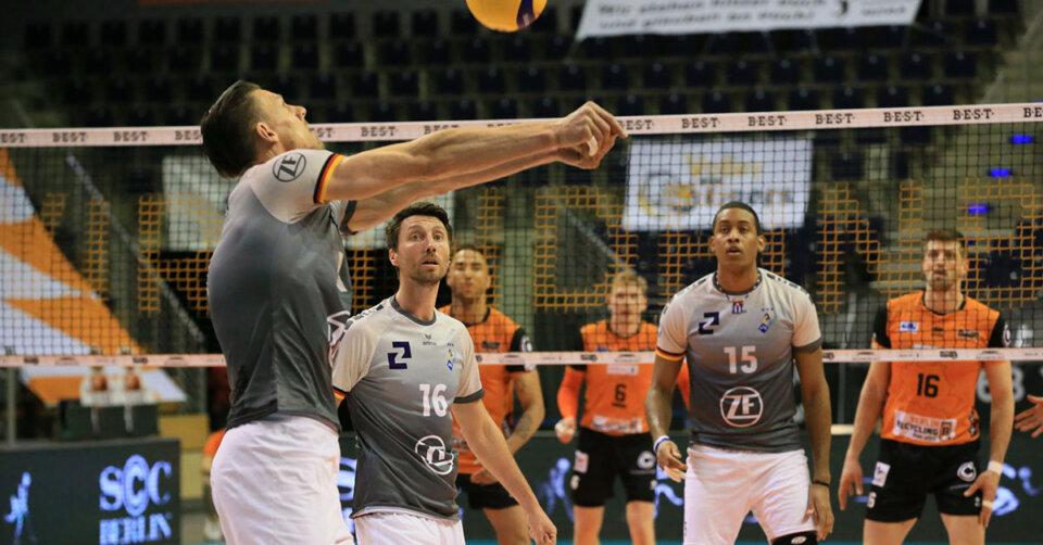 VfB-Volleyballer sind in der Bundeshauptstadt klar unterlegen