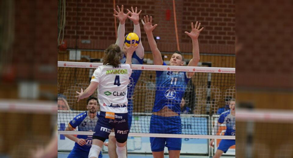 VfB-Volleyballer lösen ihr Halbfinal-Ticket