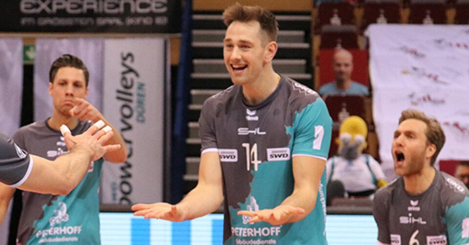 VfB-Volleyballer holen Angriffsriesen aus Düren