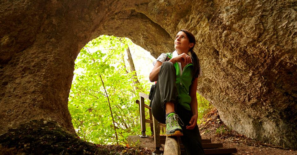 Abenteuerlicher Kloster-Felsenweg bei Sigmaringen
