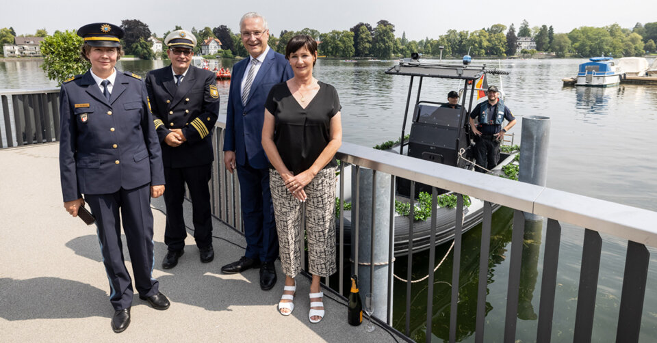 Wasserschutzpolizei Lindau feiert 100-jähriges Bestehen