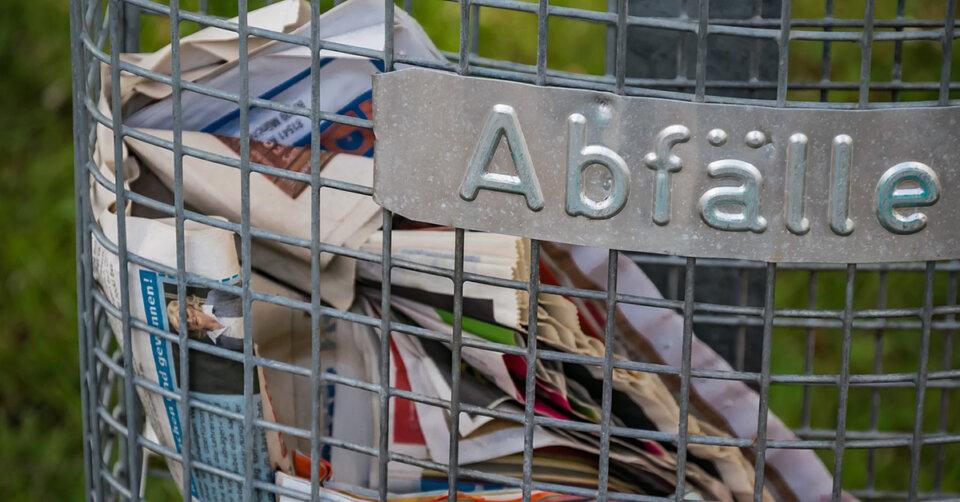Weitere Müllbehälter im Stadtgebiet aufgestellt
