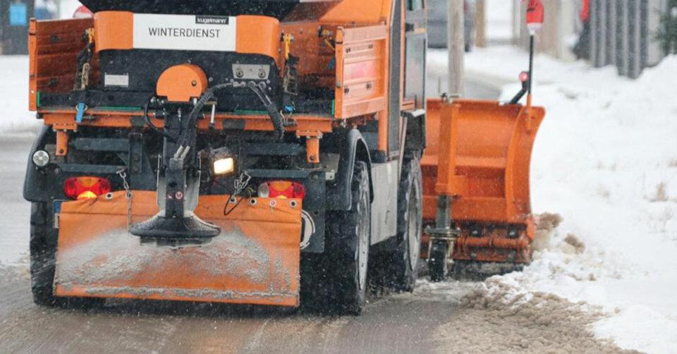 Amtliche Wetterwarnung: Schneefall und Frost – nachts örtlich unter -15 Grad!