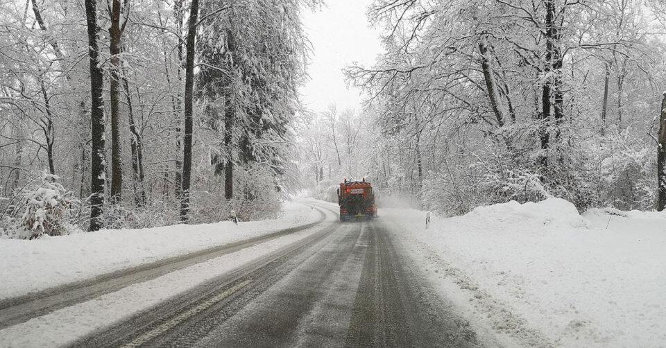 Wetterwarnung – heftiger Wintereinbruch nach Ostern: Starker Schneefall, Frost, Wind und Glätte!