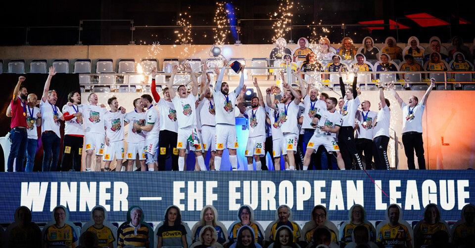 Der SC Magdeburg holt sich den EHF EL-Pokal
