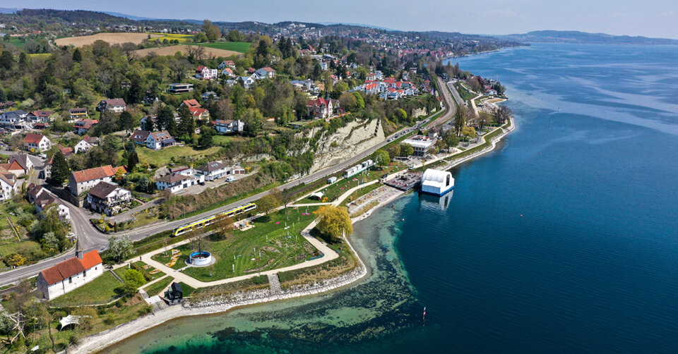 Thema Typisch Bodenseekreis – Wirtschaftswochen auf der Landesgartenschau Überlingen mit der WFB