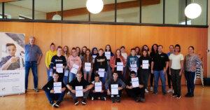 Bewerbungstraining für Schüler mit den Wirtschaftsjunioren
