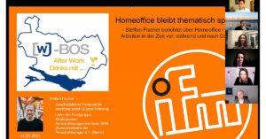 Thema Homeoffice: Wirtschaftsjunioren Bodensee-Oberschwaben über künftige Herausforderungen