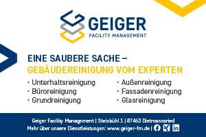 Geiger Facility Management Dietmannsried