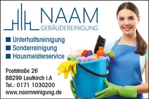 Naam Gebäudereinigung Leutkirch