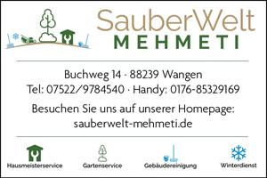SauberWelt Mehmeti Wangen