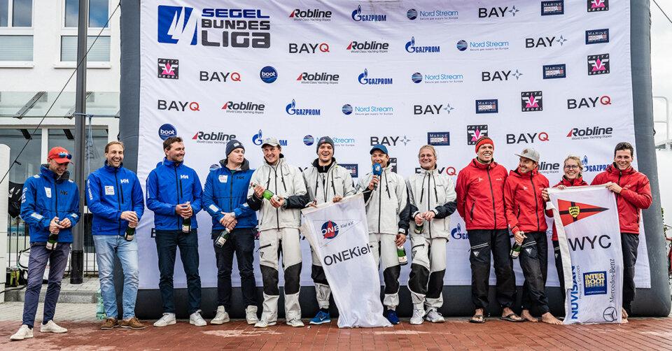 Segel-Bundesliga: WYC-Team segelt in Warnemünde auf Platz drei