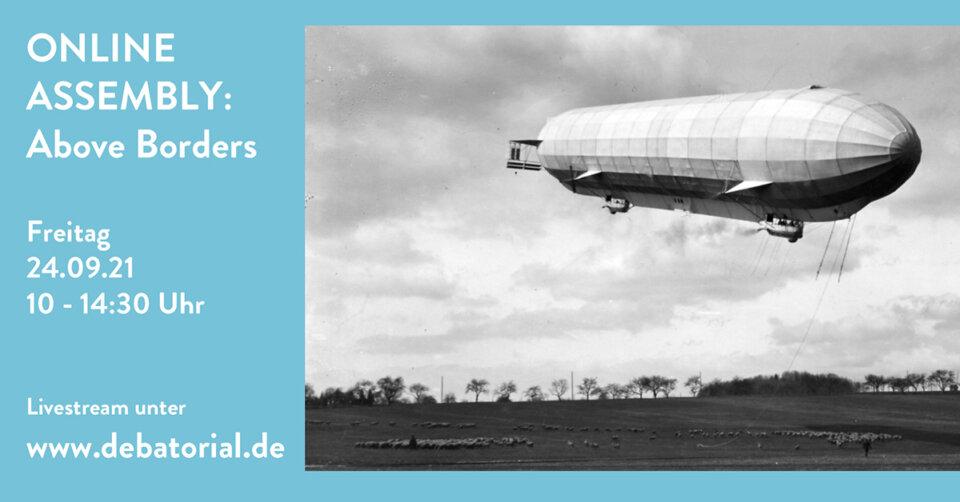 ABOVE BORDERS – Fachtagung im Zeppelin Museum