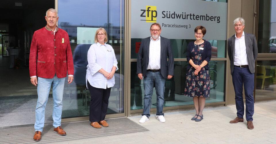 ZfP-Abteilung in Biberach offiziell eröffnet