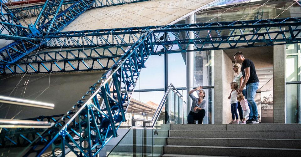 Kreativität ist gefragt: Das Zeppelin Museum lädt zum Mitmachen ein