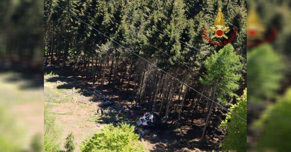 Zwölf Tote bei Seilbahnunglück in Italien